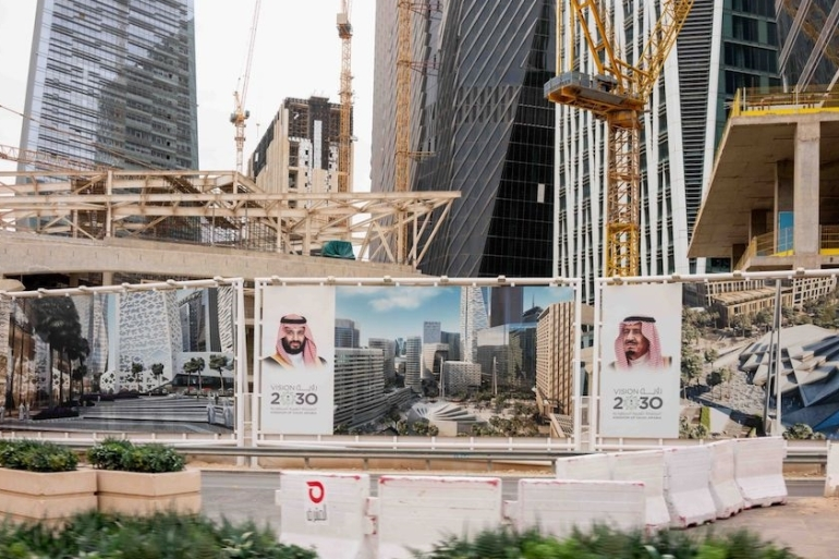 Saudi Arabia's de facto leader Crown Prince Mohammed bin Salman needs Aramco's money to fulfill his ambitious blueprint to diversify the kingdom's economy away from fossil fuels [File: Bloomberg]