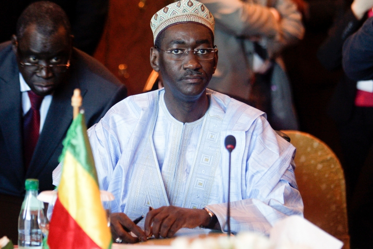 Moctar Ouane served as Mali's foreign minister in 2004-2009 during Amadou Toumani Toure's presidency [File: Mohamed Messara/EPA]