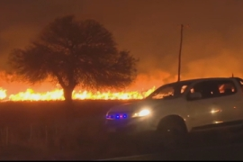 Argentina devastated by widespread wildfires