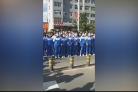 Mandarin over Mongolian: Students protest against language policy
