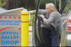 US elections 2020: Ballot drop boxes installed across states