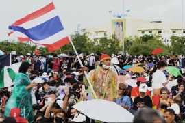 Thai protests: Taking on the monarchy, breaking through taboos