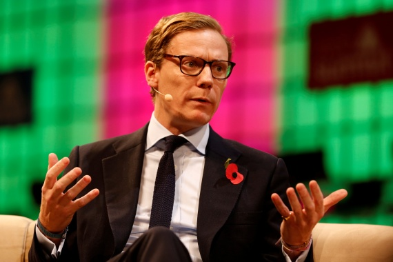 CEO of Cambridge Analytica Alexander Nix was the director of the firm and five companies that had marketed themselves as offering clients 'bribery or honey trap stings' and 'voter disengagement campaigns', a UK agency said [File: Pedro Nunes/Reuters]