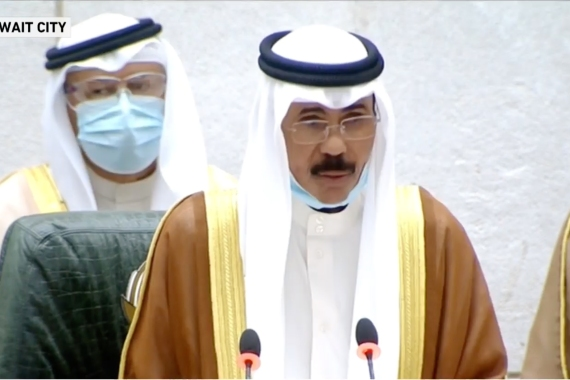 Sheikh Nawaf, who has held high office for decades, was named heir apparent in 2006 [Screengrab/Al Jazeera]