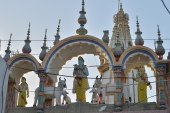 A general view of the Shri Krishna Temple in Mithi, some 320km (198 miles) from Karachi [File: Rizwan Tabassum/AFP]