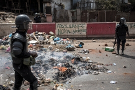 Amnesty on Thursday urged Guinea to end impunity for its security forces [File: John Wessels/AFP]