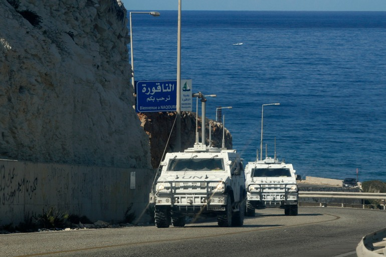 The talks were held at the UNIFIL headquarters in the Lebanese border town of Naqoura [File: Mahmoud Zayyat/AFP]