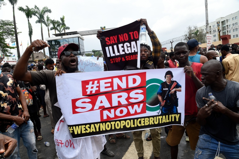 SARS: Why are tens of thousands of Nigerians protesting? | Nigeria | Al  Jazeera