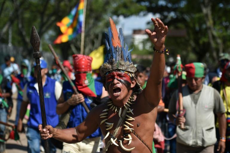 The Fight Continues Colombia Protests Persist Despite Pandemic Coronavirus Pandemic News Al Jazeera