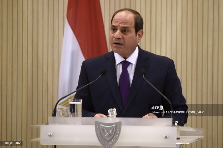 El-Sisi stressed the importance of the upcoming elections [File: Iakovos Hatzistavrou/Pool via AFP]