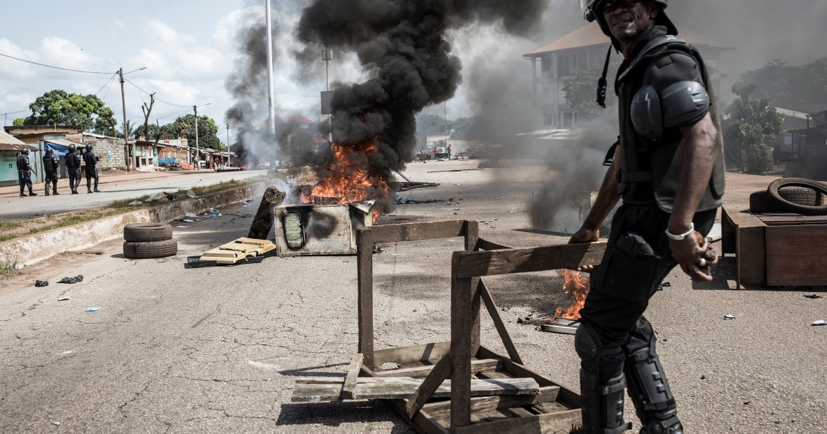 Amnesty International accuses Guinea of post-election crackdown thumbnail