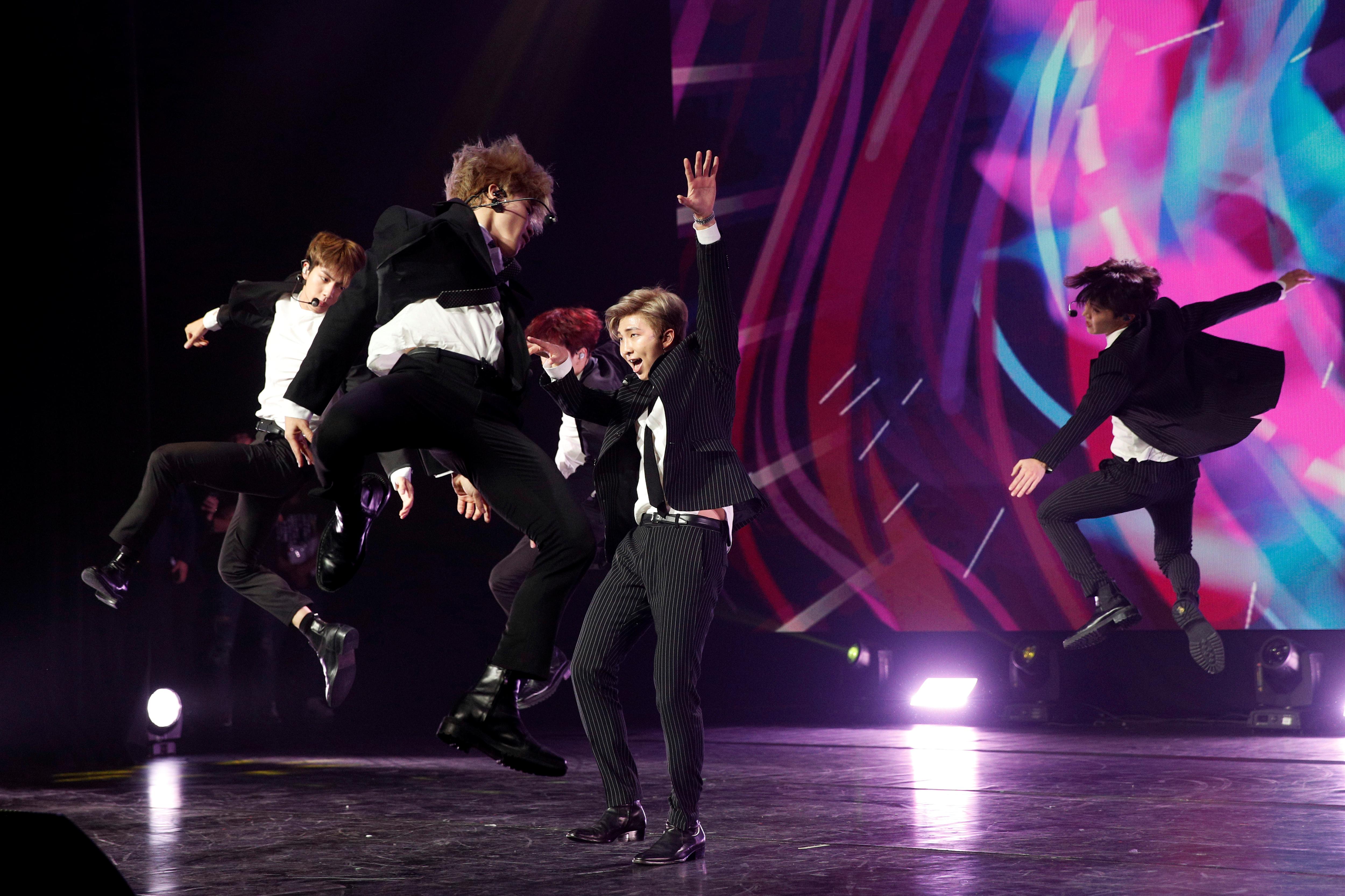 K-pop group BTS management label Big Hit drops after stock debut