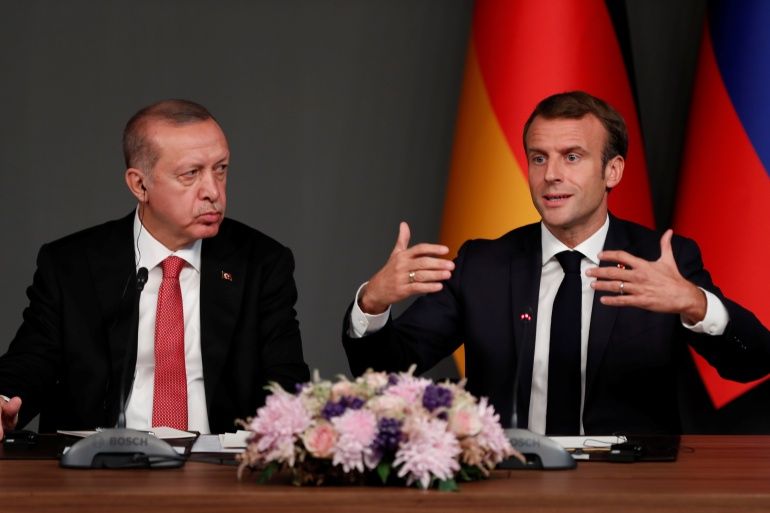Turkey and France clash on several key political issues [File: Murad Sezer/Reuters]