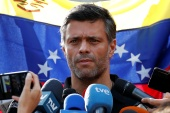 Leopoldo Lopez had been holed up at the Spanish ambassador's residence in Caracas since a failed military uprising he led in April 2019 against Venezuelan President Nicolas Maduro [File: Carlos Garcia Rawlins/Reuters]
