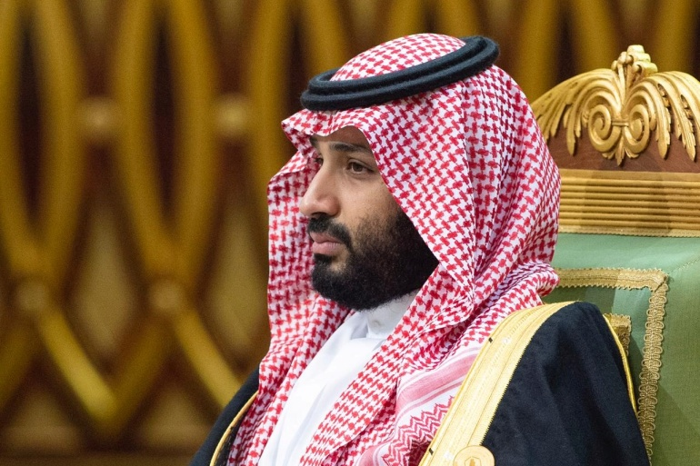 Saudi Arabia's Crown Prince Mohammed bin Salman is increasingly leaning on Aramco, the world's biggest oil exporter, to help finance his plan to transform the economy [File: Bandar Algaloud/Courtesy of Saudi Royal Court/Handout via Reuters]