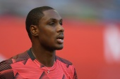 Ighalo said that while he rarely talks about politics he could not stay silent about events back home. [Michael Regan/Pool/Reuters]