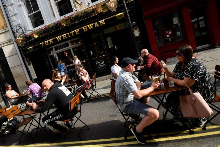 Catastrophic Impact Uk Bars Clubs Challenge Lockdown Plan United Kingdom News Al Jazeera