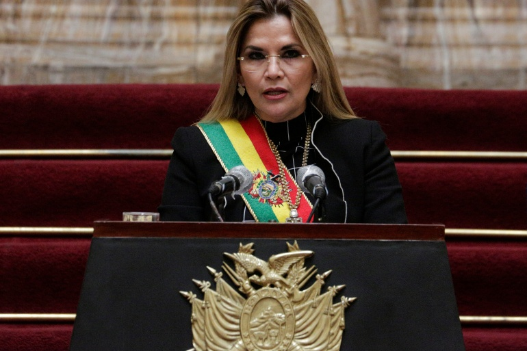 A parliamentary commission spent months investigating incidents that took place between October and November 2019, which left about 30 dead [File: David Mercado/Reuters]