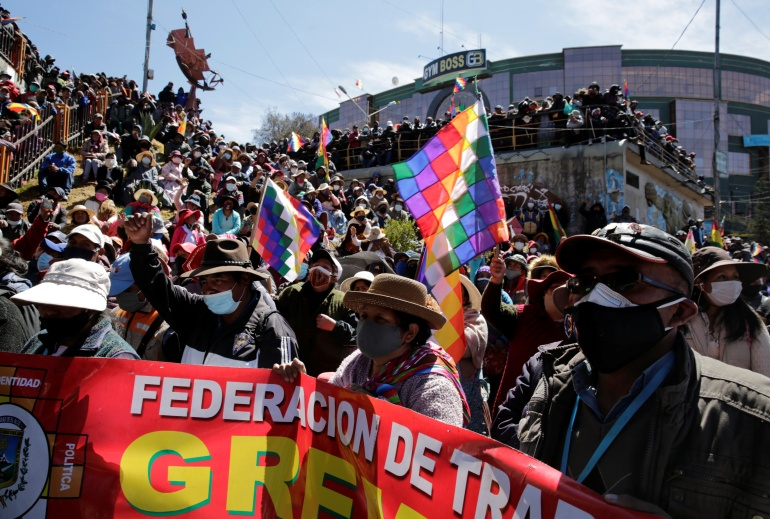 Bolivia readies for long-delayed presidential election