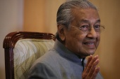 Former prime minister Mahathir Mohamad says he believes in freedom of expression but it should not be used to insult others [File: Lim Huey Teng/Reuters]