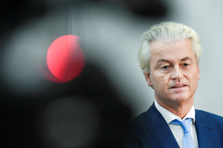 Geert Wilders has frequently offended Muslims with his comments [File: Piroschka van de Wouw/Reuters]