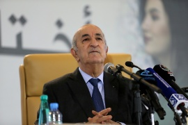 President Abdelmadjid Tebboune has defended the new charter as the best guarantee against a slide toward authoritarianism [File: Ramzi Boudina/Reuters]