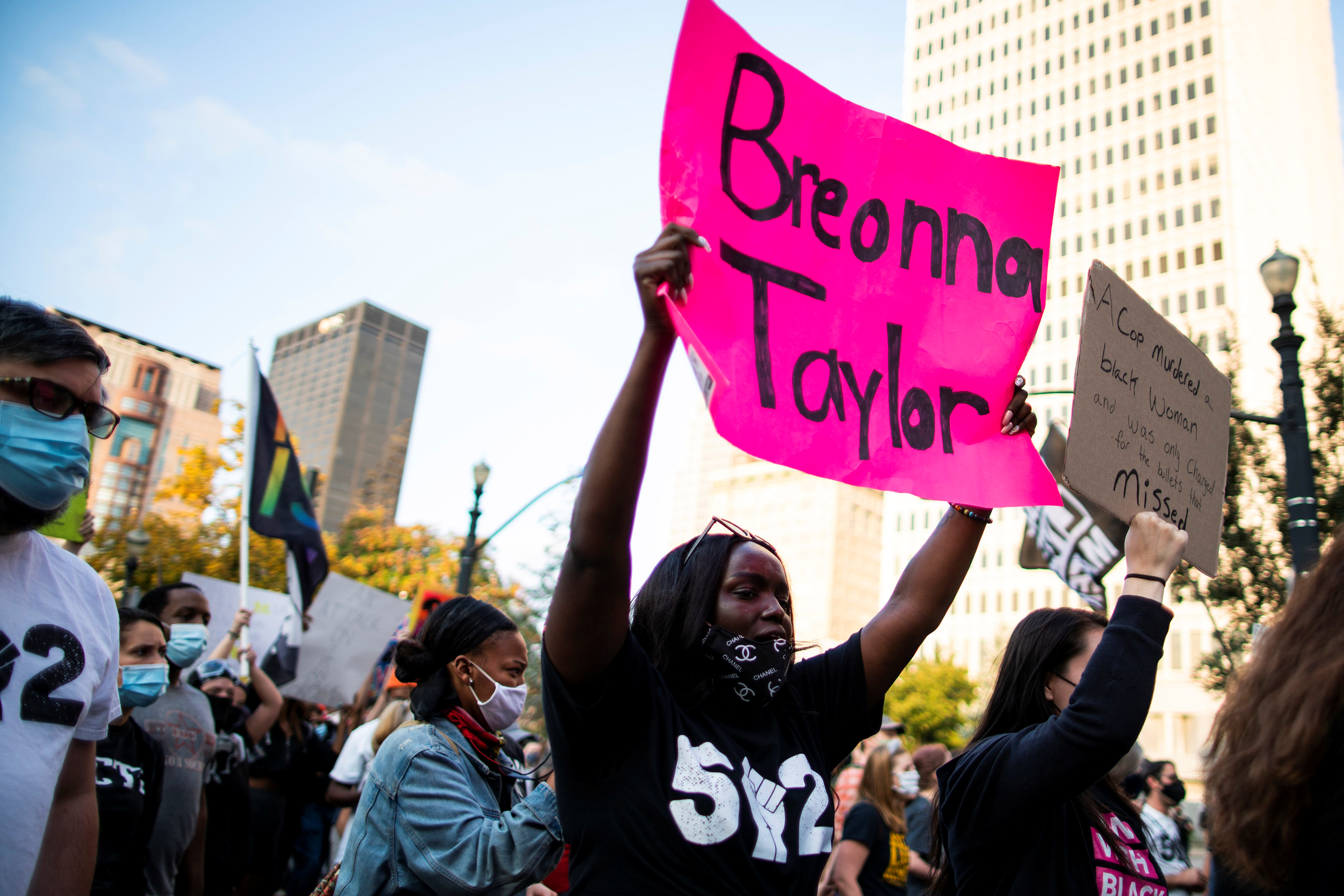 US cop whose injury led to shooting death of Breonna Taylor says protestors are misinformed