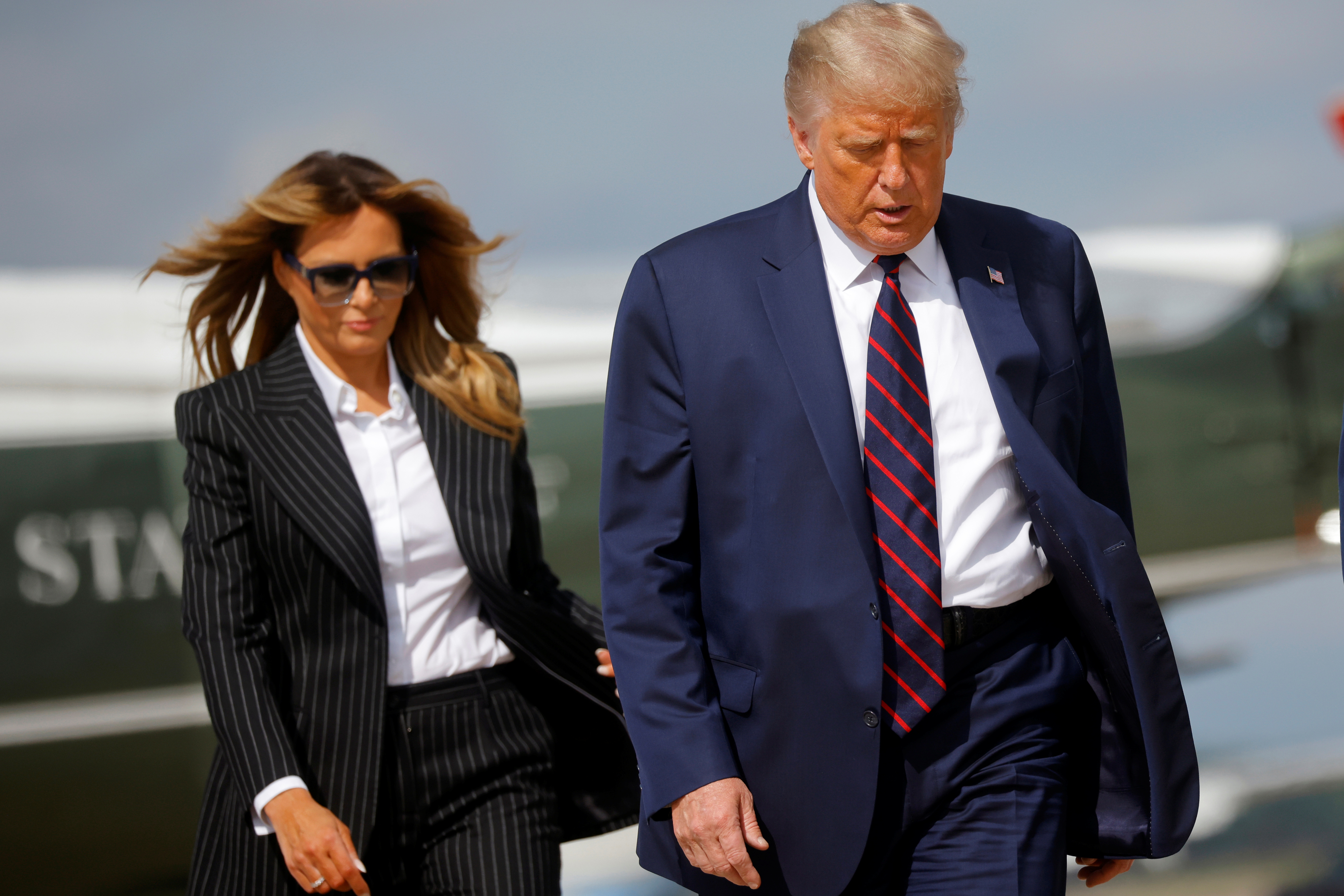 Trump and Melania test positive for COVID-19: Live news thumbnail