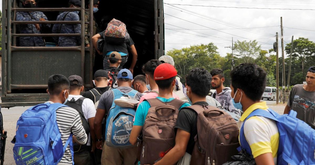 Guatemala sends back some 3,500 migrants amid COVID-19 concerns