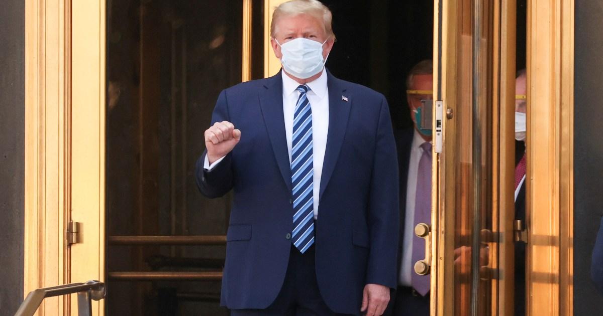 How Donald Trump's COVID-19 illness unfolded: A timeline thumbnail