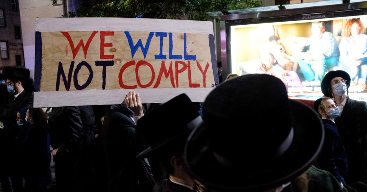 Ultra-Orthodox Jewish groups sue NY governor over COVID-19 curbs thumbnail