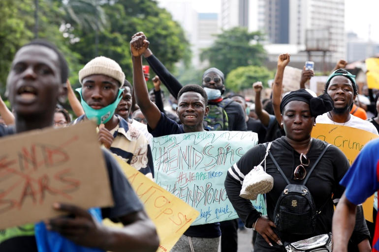We need justice': Nigerians to keep up #EndSARS pressure | Nigeria | Al  Jazeera