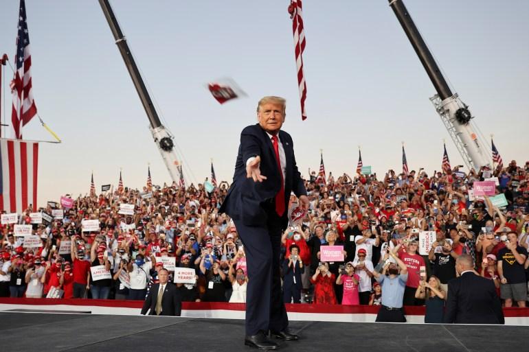 Clear of virus, Trump returns to campaign trail: US election news   US & Canada   Al Jazeera
