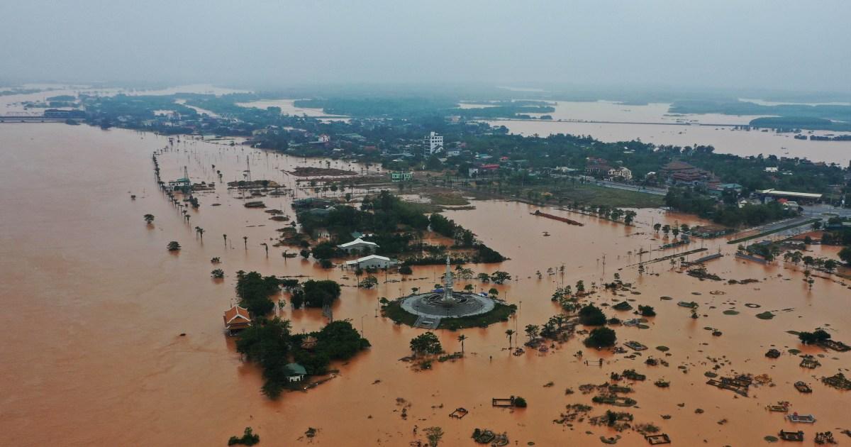 Landslide Hits Vietnam Army Barracks 22 Soldiers Missing Vietnam Al Jazeera