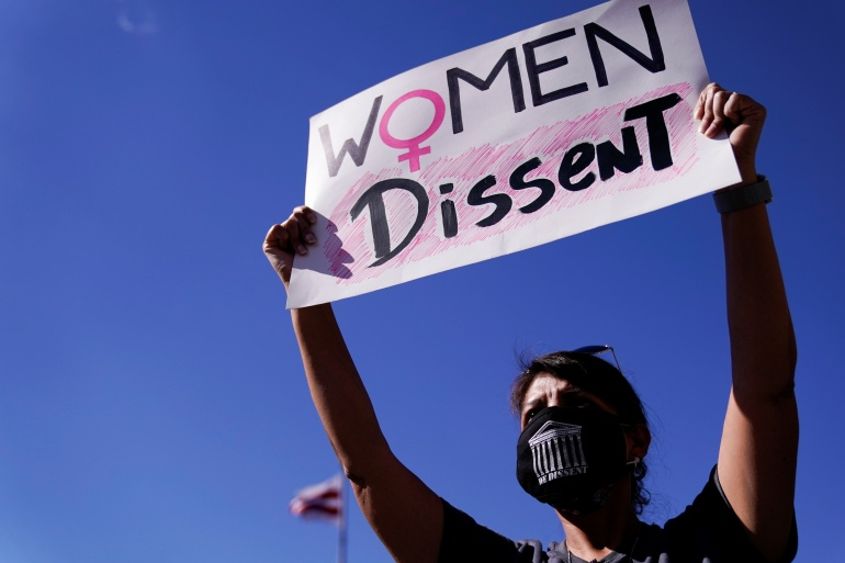 Women's March holds rallies against Trump's Supreme Court pick
