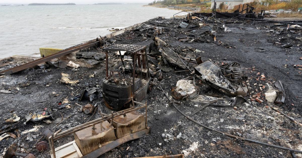 Indigenous leader demands protection after lobster pound blaze thumbnail