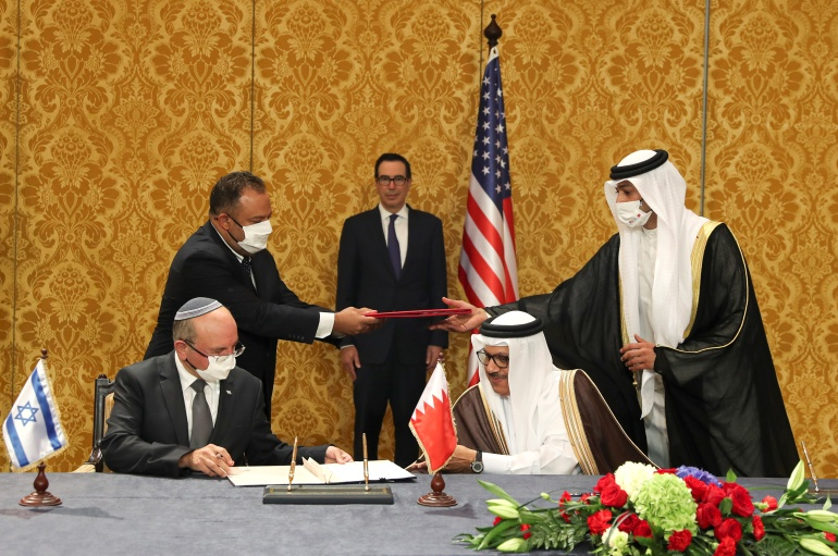 Israel and Bahrain formalise relations at ceremony in Manama   Israel   Al  Jazeera