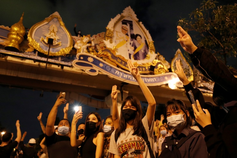 Thailand has one of the world's harshest royal defamation laws and it is routinely interpreted to include any criticism of the monarchy [File: Jorge Silva/Reuters]