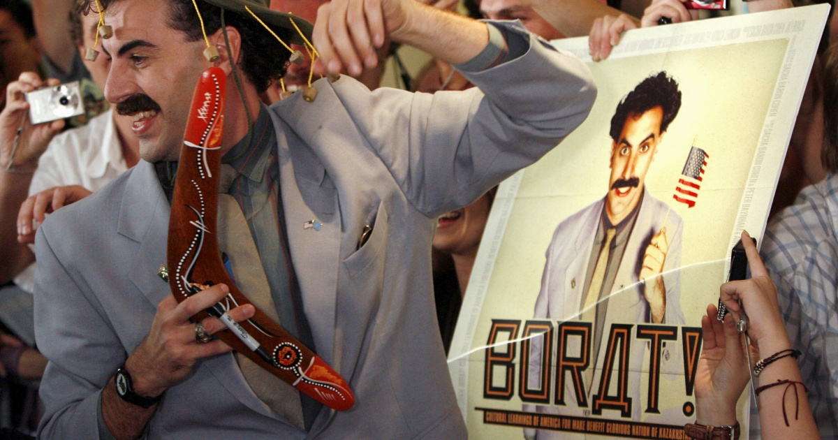 'Cancel Borat': Some in Kazakhstan not amused by comedy sequel