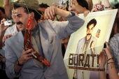The first Borat movie, Borat: Cultural Learnings of America for Make Benefit Glorious Nation of Kazakhstan, was released in 2006 and elicited criticism from government officials [File: David Gray/Reuters]