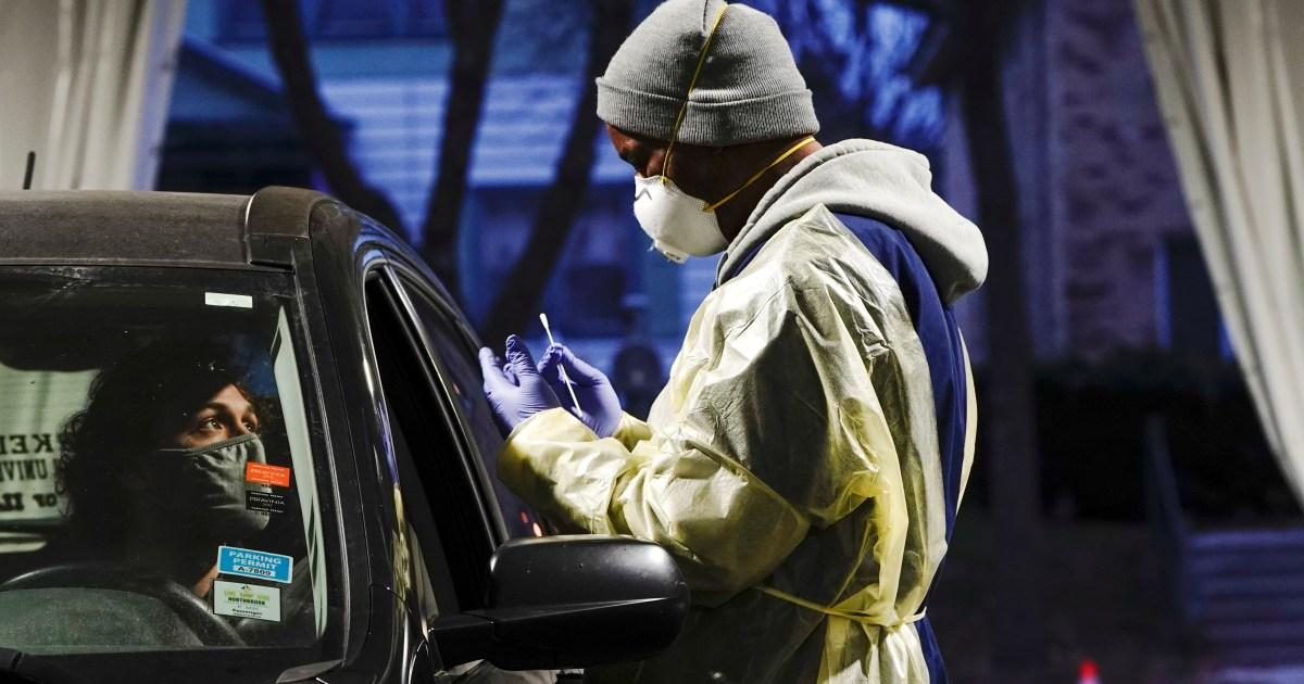 Us Covid 19 Deaths Could Hit 500 000 By February Researchers Say Coronavirus Pandemic News Al Jazeera