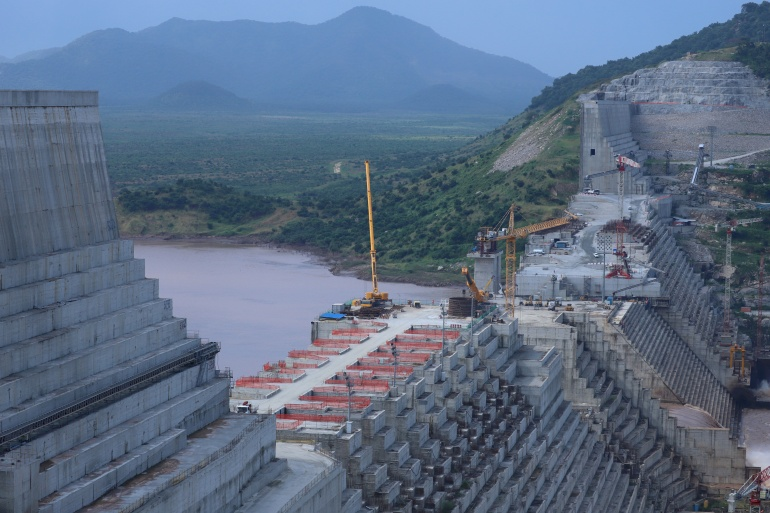 Trump suggested on Friday that Egypt would eventually bomb the Grand Ethiopian Renaissance Dam if an agreement is not reached over control of operations and water flow [File: Tiksa Negeri/Reuters]