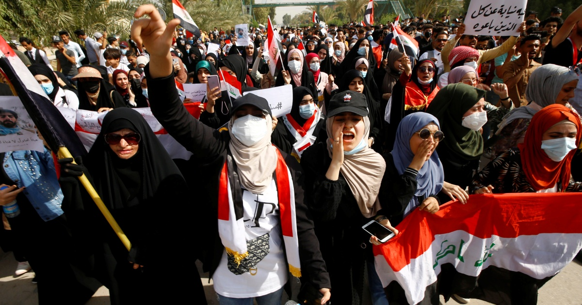 Kemarahan Irak tumbuh setelah penundaan pemilihan thumbnail
