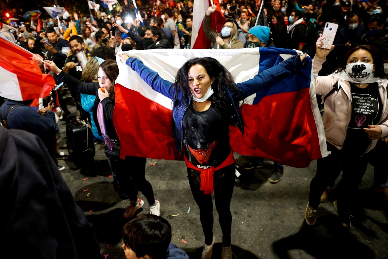 In Pictures: Chileans celebrate landmark referendum victory | Latin America  News | Al Jazeera