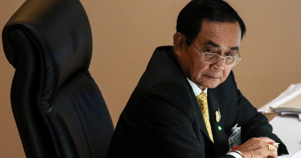 Thai PM Prayuth says he will not resign despite protests