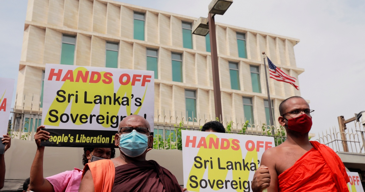 China Tells Us Not To Bully Sri Lanka Ahead Of Pompeo S Visit Asia Pacific Al Jazeera