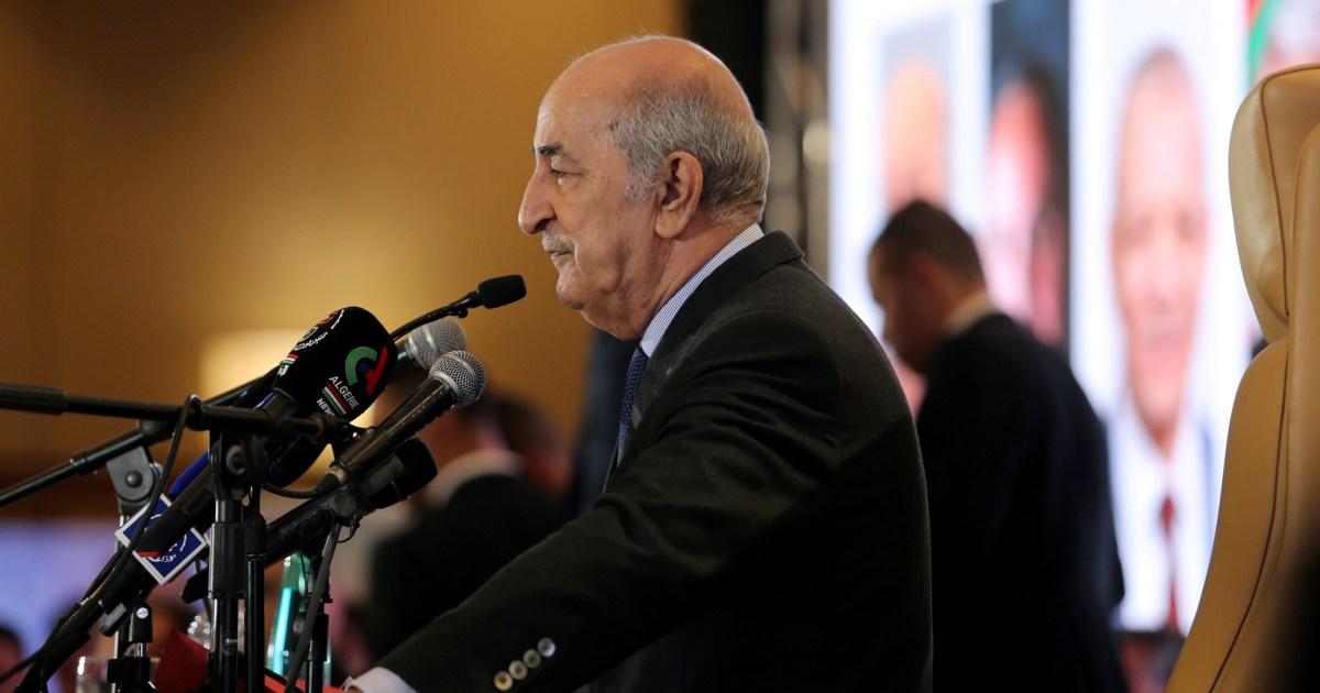 Algeria: President Tebboune hospitalised, in 'stable' condition