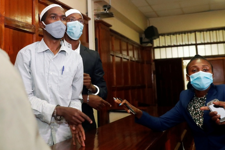 Although there was no specific evidence, the court said their communication with the attackers amounted to support for the rampage [Thomas Mukoya/Reuters]