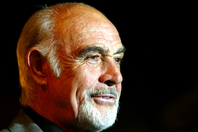 Шотландский актер получил премию «Оскар» за лучшую мужскую роль второго плана в 1987 году за роль в фильме «Неприкасаемые» [Файл: Reuters]