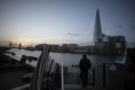 A no-deal Brexit would mean the trading relationship between the pair would become more expensive and bureaucratic for both [File: Jason Alden/Bloomberg]